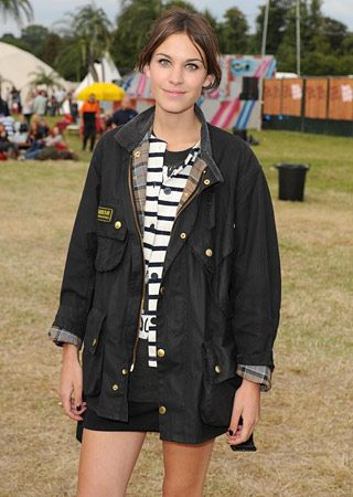 Barbour jacket! Can't wait for it to get cool outside.