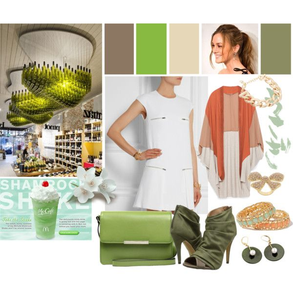 My love is green by ldavidsonm on Polyvore featuring moda, Zara, Michael Antonio, JAY. M, ASOS and Forever 21