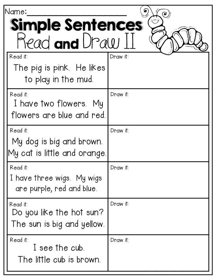1st Grade English Worksheets - Best Coloring Pages For Kids Kindergarten  Writing, Kindergarten Reading, School Reading