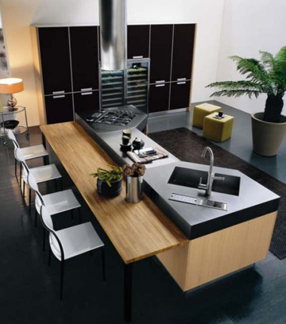 Bontempi modern kitchen design ideas modern kitchen home decoz