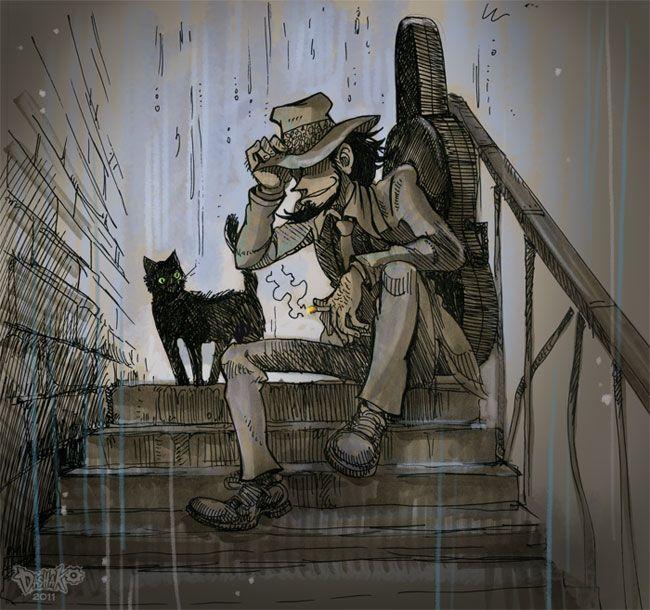 Fan-comix on Lupin III Мой первый фан-комикс >__<. То, чт&#...