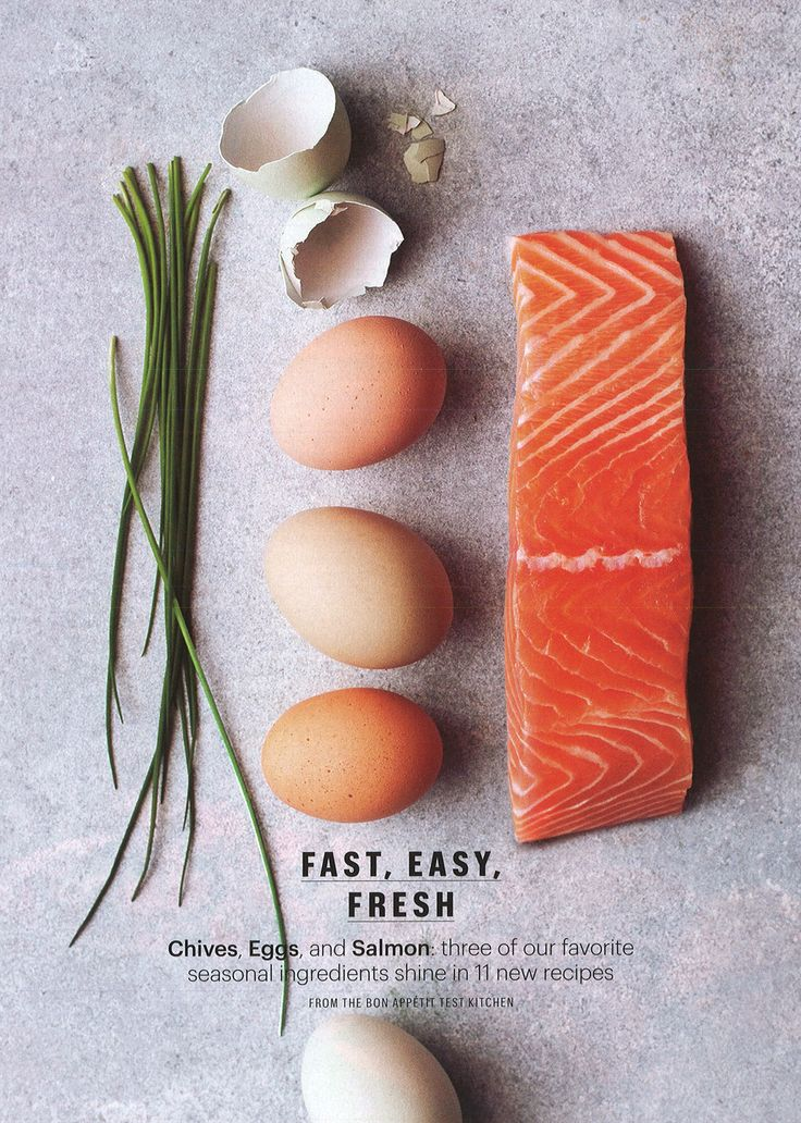 Salmon is one of the healthiest foods you can eat as it is one of the best sources of omega-3 fatty acids, those beneficial fats that not only enhance our health but also our appearance. Also high in these are eggs, especially those of the organic variety. Photo: Ditte Isager Bon appetit