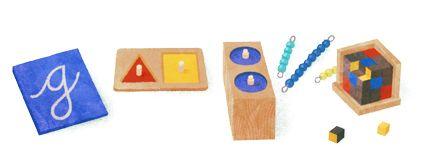 142º Aniversário de Maria Montessori