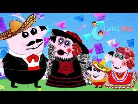 luna mia peppa pig da de los muertos en mxico halloween 2016 youtube - Halloween Dia