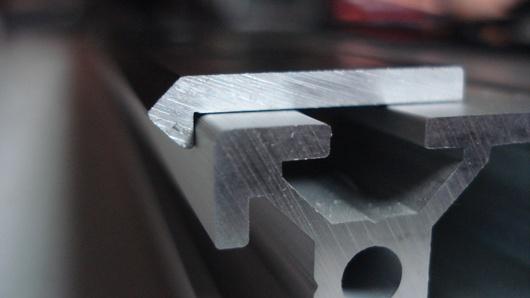 Turn profile t slot aluminum extrusion into a linear rail