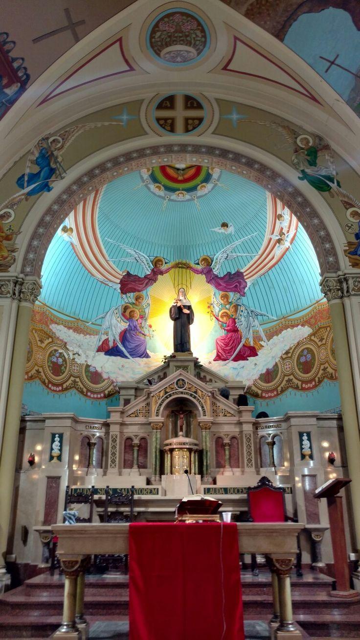Iglesia Santa Rita Camarones y Concordia, Villa Santa Rita