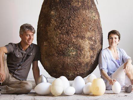 Raoul and Anna coffin and urns! #capsulamundi #greenburial #biourn