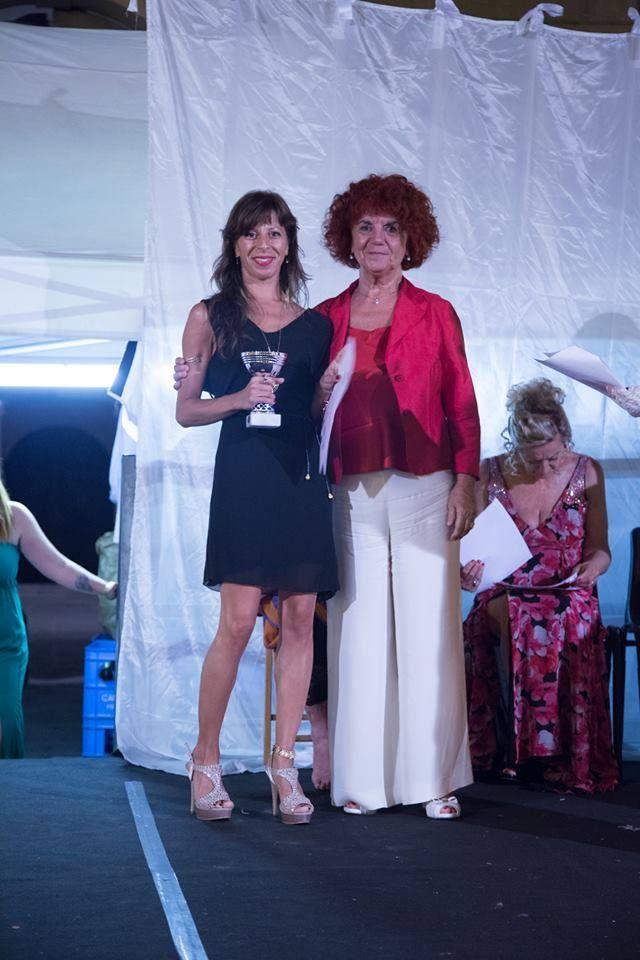 Premio Letterario Internazionale Sarzana. 2 Agosto 2015. Con Valeria Fedeli.