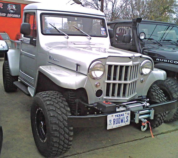 93 Best Willys Jeep Pickup's Images On Pinterest