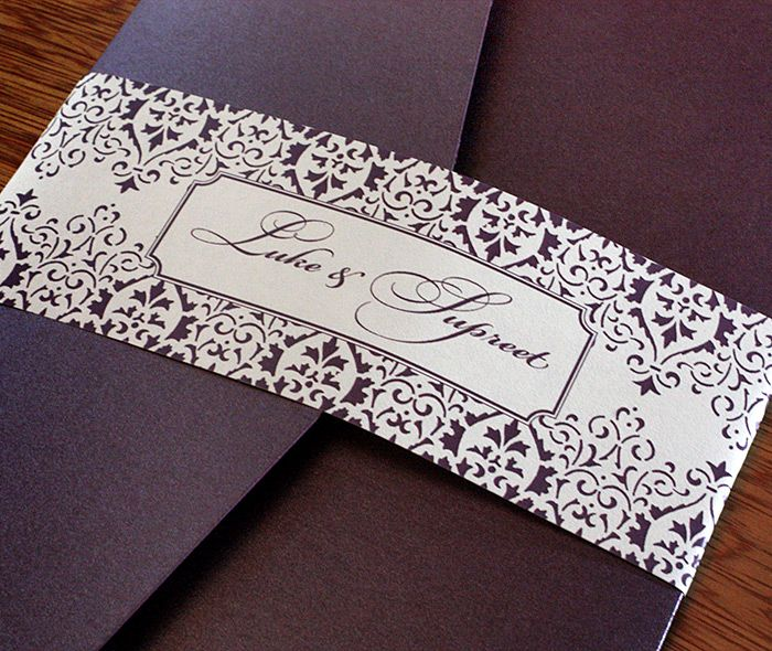 With An Elegant Nineteenth Century Style Motif That Exudes An Almost Royal  Presence, The Vintage Lace Wedding Invitation Design Is Classic A.