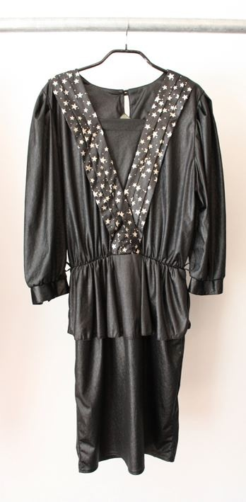 80's vintage dress  100% polyester  size 38  Dkk 200,-  Available in Beware of Limbo Dancers