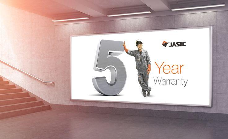 5 Year Warranty.
