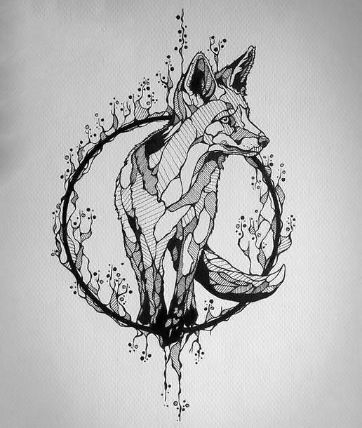 25 beautiful fox tattoo design ideas on pinterest fox drawing fox tattoos and fox design. Black Bedroom Furniture Sets. Home Design Ideas