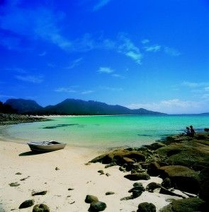 Freycinet National Park, Coles Bay, can be enjoyed while staying in one of the caravan parks in Tasmania during your family holidays. http://www.ozehols.com.au/blog/tasmania/not-to-be-missed-while-holidaying-in-caravan-parks-tasmania/ #VisitTasmania #CaravanParks #TasmaniaHolidays