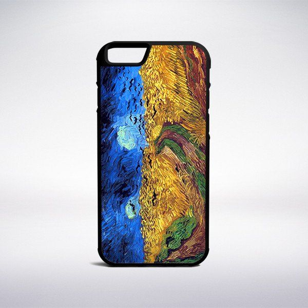 Vincent Van Gogh - Wheat Field With Crows Phone Case – Muse Phone Cases