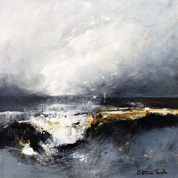 A Dark Stormy Day by the Sea
