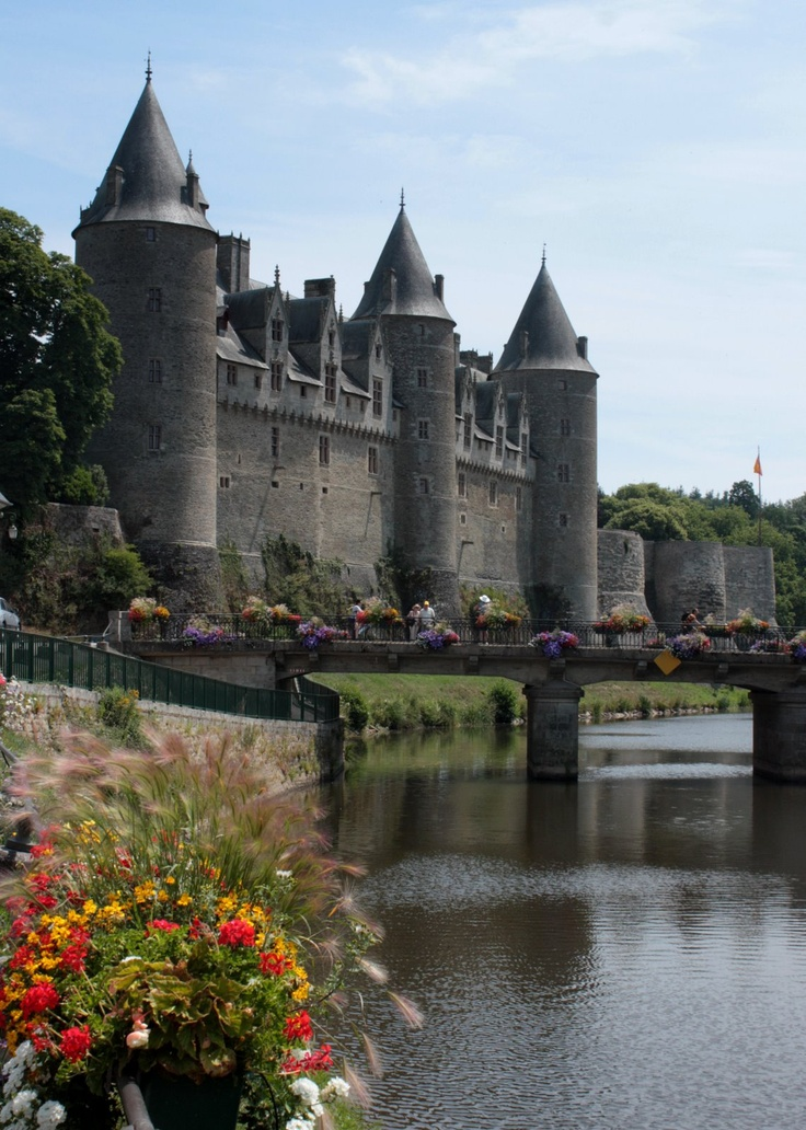 Josselin Castle in Brittany, France.I want to go see this place one day.Please check out my website thanks. www.photopix.co.nz
