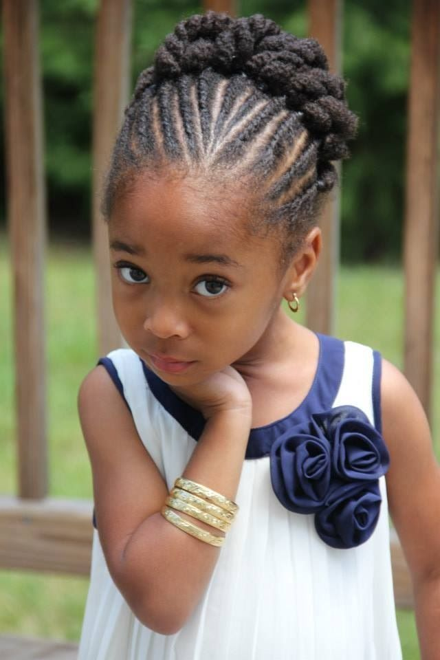 Black Natural Hairstyles For A Wedding : 148 best natural kids: updos images on pinterest