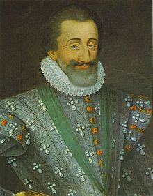 """Henri IV (1553 - 1610). King of France from 1589 to 1610. He married Margaret of Valois, but annulled in marriage. He then remarried Marie de Medici and had six children. He had many mistresses during his life. He was a protestant, and had to fight a civil war in order to get the throne. He finally decided that """"Paris is worth a mass"""", and converted to Catholicism to gain the crown. He was assassinated in 1610."""