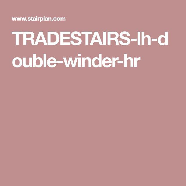 Best Tradestairs Lh Double Winder Hr Winder Stair Plan Doubles 640 x 480