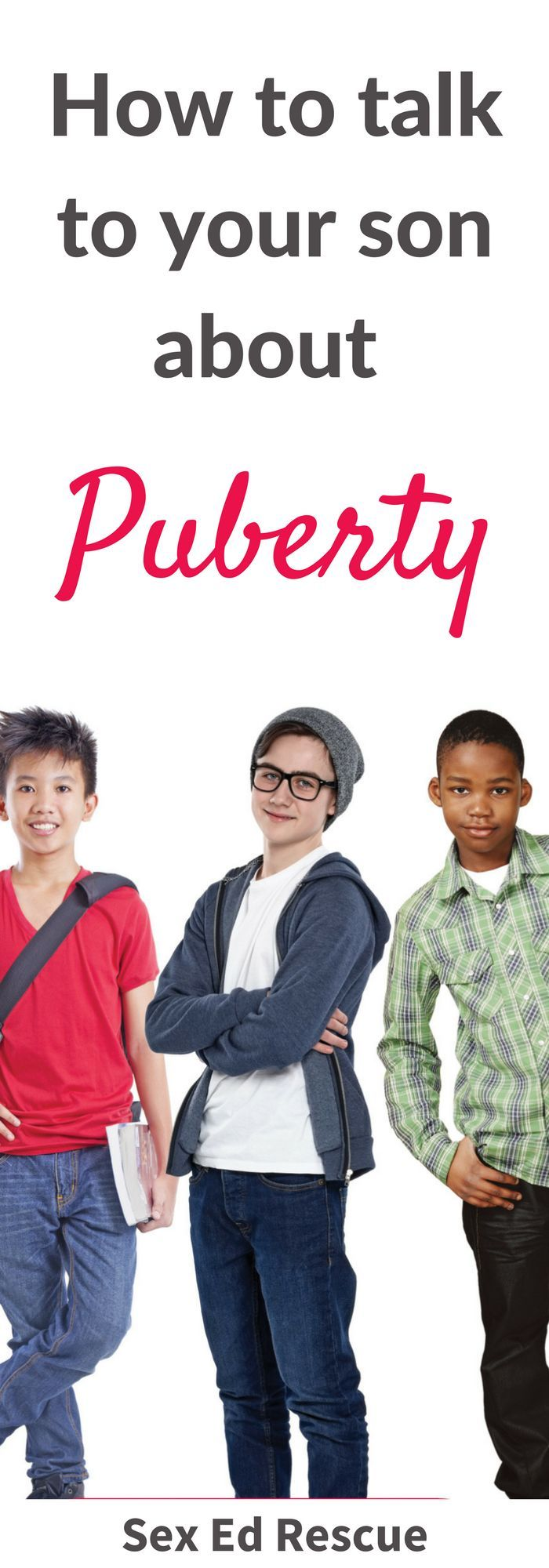 Unsure about how to talk to your son about puberty, then this puberty book for parents will get you talking to boys about puberty.