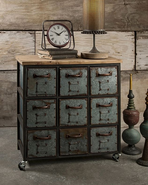 Awesome Industrial Furnishing Plans To Complement Your Urban Vision Cabinet Vintage Industrial Decor Industrial Design Furniture Vintage Industrial Furniture