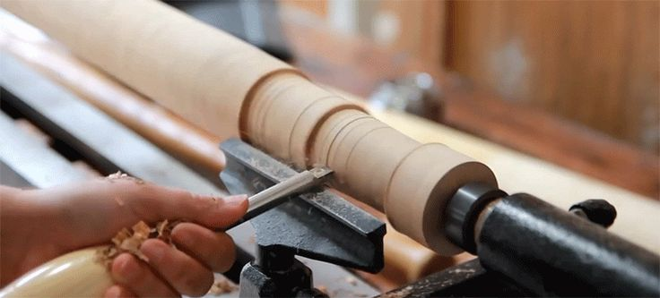 Watch a bat get hand made from three planks of wood