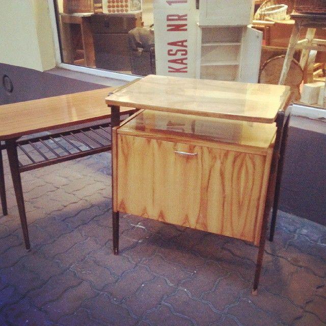 Hello!  #vintage #interiors #industrial #design #loft #retro #vintageshop #sklepvintage #poznan #midcenturymodern #midcentury #vintagestyle #60s #lata60te #60er #szafka #ława #table #schrank #komoda #cabinet #cupboard #wnętrza #old #antiques #Poland