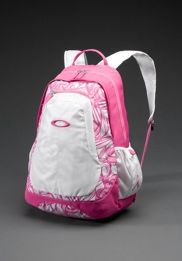4b939f2d2d03 Think pink backpack from Oakley.