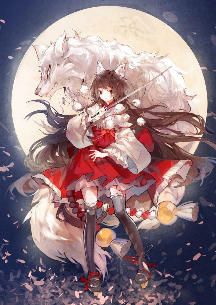 妖刀少女異聞錄,狼少女