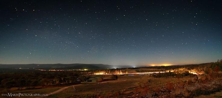 Starscape near Stanthorpe, Qld