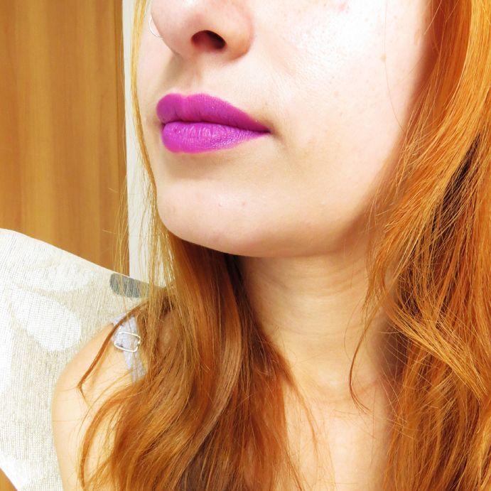 Batom Eudora Kiss Me - Roxo Euforia