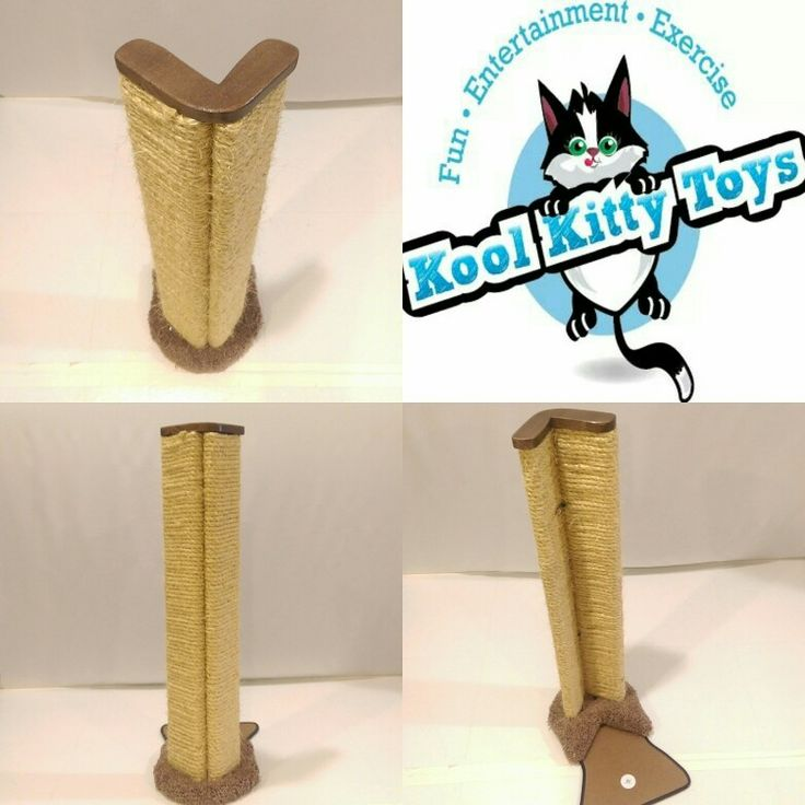 NEW Available soon!!! Our corner sisal furniture protector cat scratcher!   Please call or email us if you would like a handmade custom Kool Kitty Toys product made for your furbaby!  Every product is made in the USA by Disabled Veterans! 315-209-5444 or koolkittytoys@gmail.com  www.koolkittytoys.com  #Kool #dog #cat #DC #MD #VA #cats #kitties #kittens #pets #animal #catsofinstagram #catsoftwitter #kitty #koolkittytoys #teamcatmojo #branding #kittenbowl
