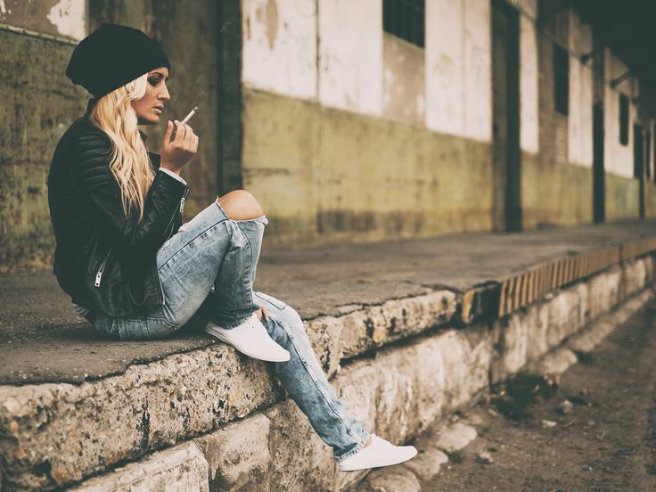Urban blonde portrait by Thomas Zsebok on 500px