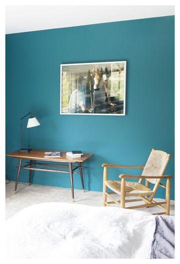 Superbe bleu de mur
