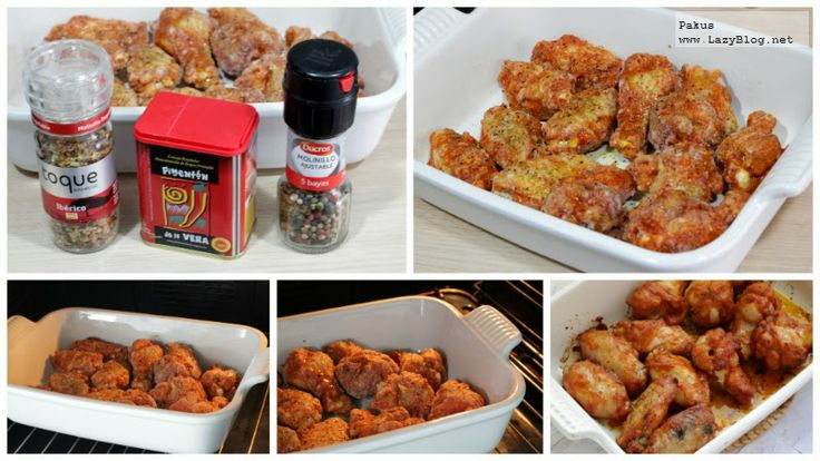 Receta de alitas picantes en el horno al estilo de Buffalo para el derby