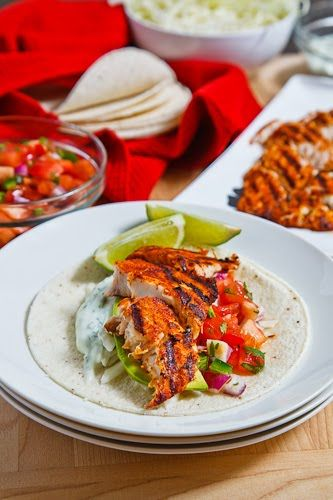 Chipotle Lime Fish Tacos Recipe Main Dishes with whitefish, oil, lime juice,