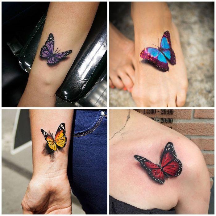 Tattoos Schmetterling