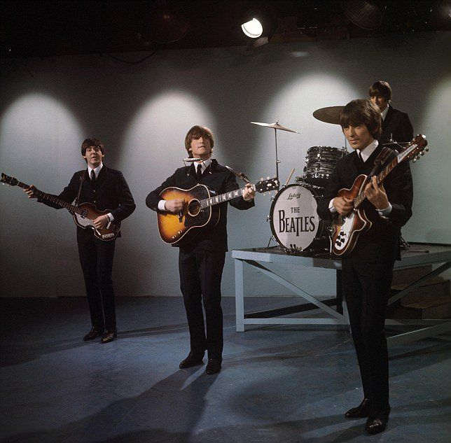 """14th October 1964. The Beatles perform """"I Should Have Known Better"""" for 2Scene…"""
