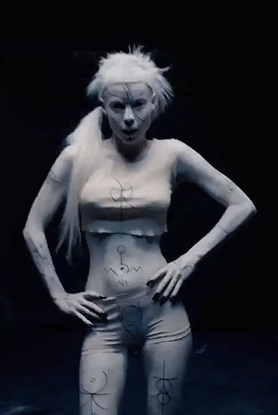 Yolandi Vi$$er is her own work of art via Confessions of a Michael Stipe