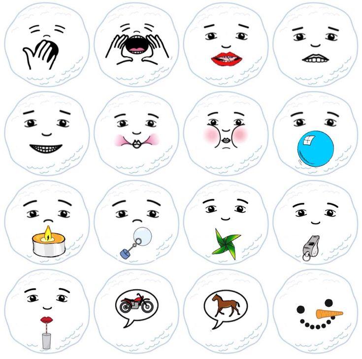 SNOWMAN (37 cartes praxies / souffle + 8 cartes accessoires) - Lol Hôte