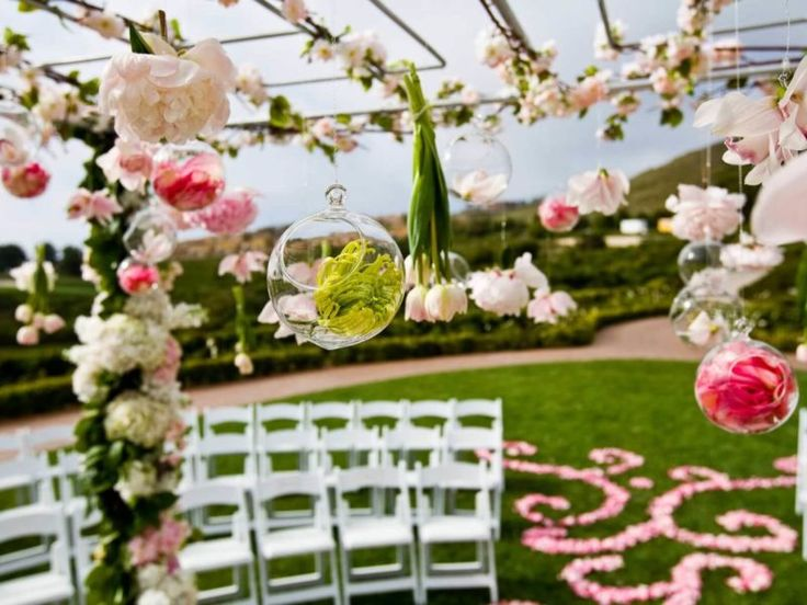 Rendezvény, esküvő teljes virágdekoráció