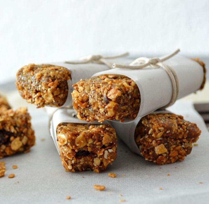 Cómo hacer barritas energéticas de cereales caseras y saludables! Leer receta...