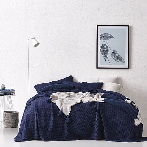 European Collection Scandi Coverlet Midnight