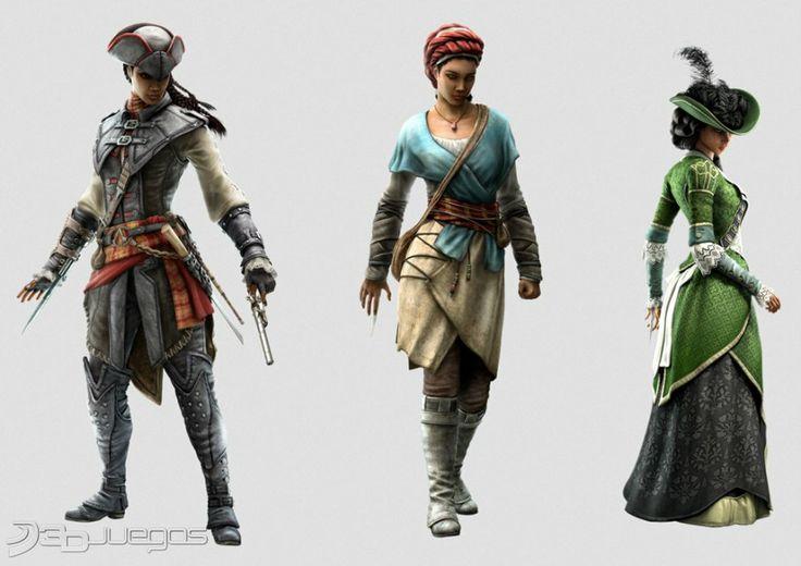 Assassin's Creed Liberation HD Aveline de Grandpre