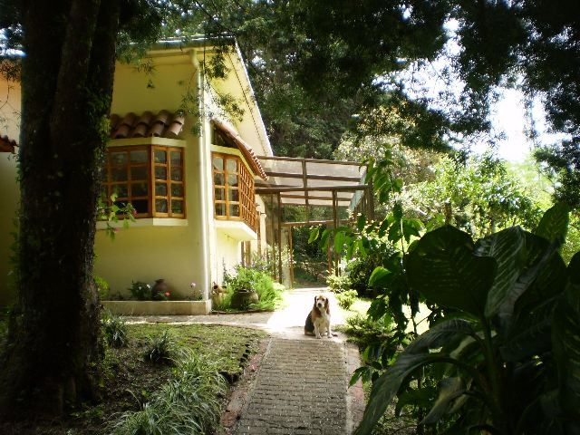 Real Estate Costa Rica - for sale by owner. Lovely mountain home + guest house and apt., with expansive grounds. Potential to use as B&B, vacation rentals.