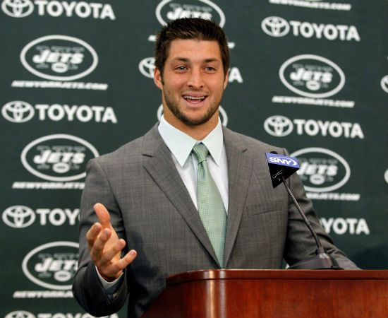 #Tebow: 'I'm so excited about being a Jet'