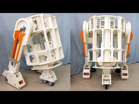 James Bruton Offering His Full-Sized, 3D Printed R2-D2 Robot Free on Github