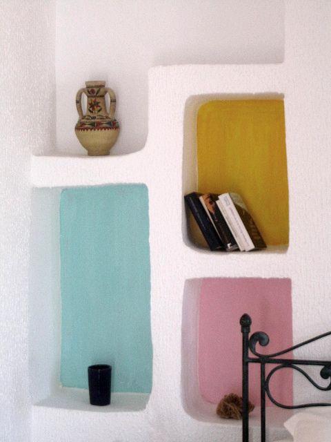 Utiliser la couleur dans les cases d'une étagère