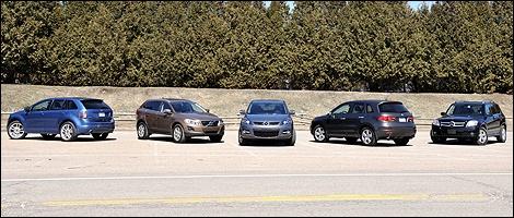40K to 50K SUV Comparison Test